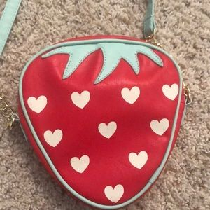 betsey johnson limited edition. strawberry purse